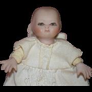 Vintage Doll Artist Baby Bisque Miniature Dollhouse Adorable G. Walter OOAK