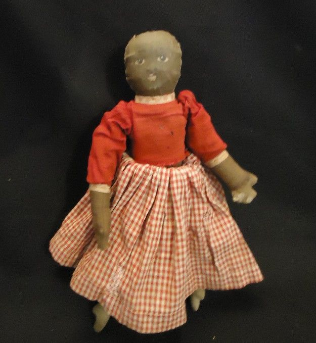 Vintage Dolls Clothes Antique Cloth Topsy Turvy Doll