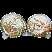 Art Nouveau Porcelain Chargers (2)