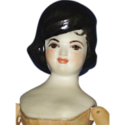 Sherman Smith Jackie Kennedy Peg Wood & Bisque  Doll 1968