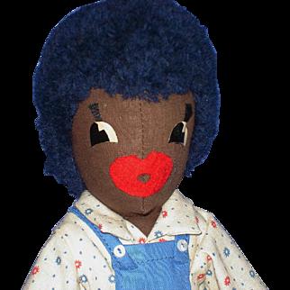 Artist Margaret Kingsbury Wee Willie Golliwog Doll with Hang Tag Vintage
