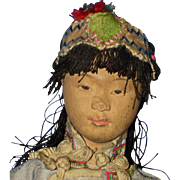 """SALE PENDING 8"""" Door of Hope Girl Child Missions Benefit Doll Shanghai China 1901-on"""