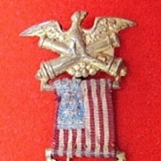 GAR Grand Army of the Republic Miniature Membership Medal Circa 1900