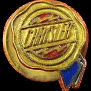 SOLD Chrysler Car Company Logo Lapel Pin ca. 1925-1930