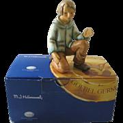 Goebel Hummel Kneeling Shepherd Current TMK with Box