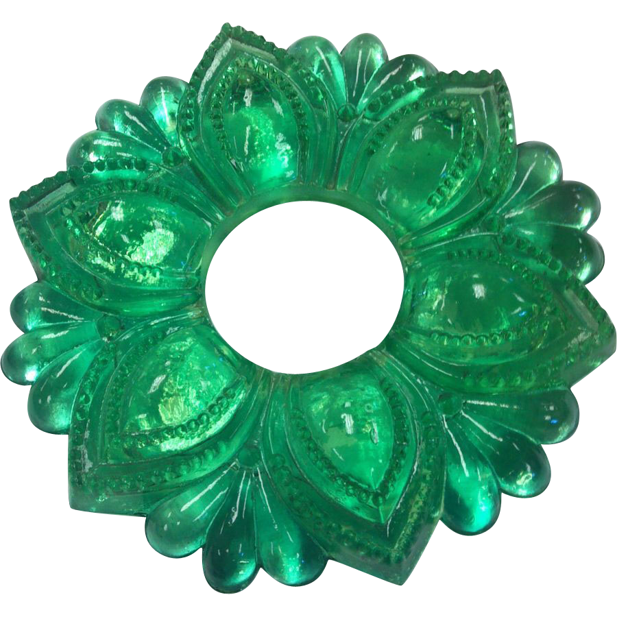 Vintage Green Glass Curtain Tie Back From Rubylane Sold On Ruby Lane