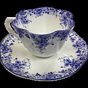 Shelley Dainty Blue Teacup & Saucer