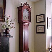 Pennsylvania Tall-Case Grandfather Clock 1773,  Provenance