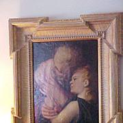 Renaissance Oil Painting on Panel , Flemish C. 1500-1699