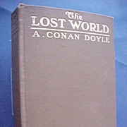 """The Lost World"" Arthur Conan Doyle, First American Edition 1912"