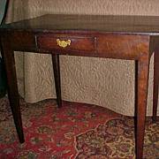 Early Colonial Work Table 1800-1820