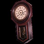 Octagon regulator wall clock  Seikosha C. 1900
