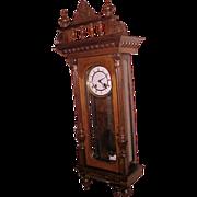 Vienna Regulator Wall Clock Gustav Becker 1887