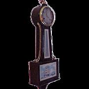 Banjo Wall Clock New Haven Marine Tablet C. 1920
