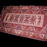 "Oriental Rug Lori Pambak (Kazak) 3'4"" X 6'3"" Semi-Antique"