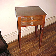Southern Country Table Nightstand C. 1830