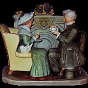 Norman Rockwell Four Seasons Figurine