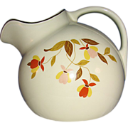 Hall's Jewel Tea Autumn Leaf Ball Pitcher