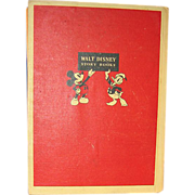 SOLD 1939 Mickey Mouse Book