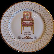 I Goldinger Limoge Desert Plate