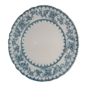 SOLD Royal Staffordshire Pottery serving plate-Blue and White