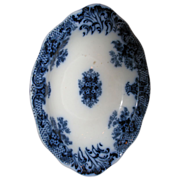 SALE Keswick Flow Blue Bowl   Wood & Son