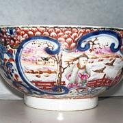 Antique Chinese Mandarin Bowl      ca.1780