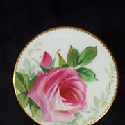 Minton Rose Dresser Jar   Sevres Borders   Hand-Painted  ca. 1890s