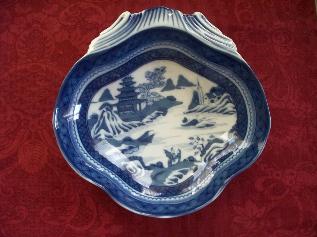 Mottahedeh  Canton  Shell  Bowl    Perfect  New
