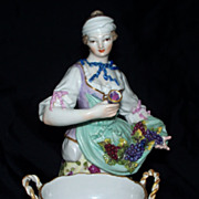 19th century  KPM Berlin  Figurine of a Wine-taster