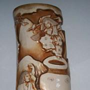 Japanese Sculptured  Porcelain Vase