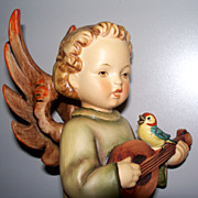 "Hummel Angel with Mandolin  TMK4  #172  8"""