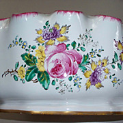 SOLD Antique French Faience Veuve Perrin Jardiniere Montieth 18th/early19th Century..