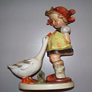 """Lovely Hummel """"Goose Girl"""" TMK 2 Full Bee #47/2 .. 7 1/2"""" Tall!"""