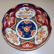 Antique Japanese Imari Bowl Late Edo/Early Meiji