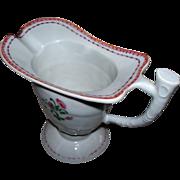 SOLD Antique Chinese Porcelain Helmet Pitcher  ca.1820