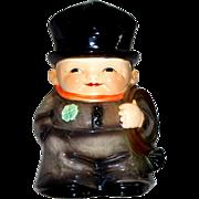 Vintage Goebel Friar Tuck/Monk with Four- Leaf Clover Stein Figurine   Dated 1972