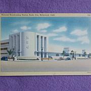 Vintage NBC 1940s Linen Estate Postcard