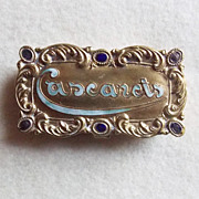 Delightful CASCARETS Antique Victorian Estate Box