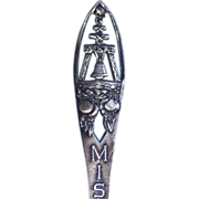 Antique Mission Inn Sterling Signed Paye & Baker Souvenir Spoon