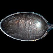 Antique Carmel Mission Sterling Estate Souvenir Spoon