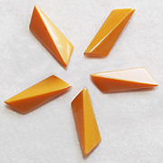 Awesome BAKELITE Amber Butterscotch Vintage Buttons
