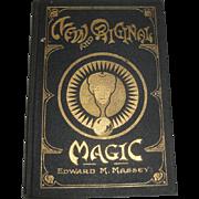 SOLD 1922 New & Original Magic by Edward M. Massey