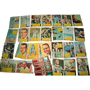 SOLD 26 Vintage Topps NASA Space Astronaut Cards + Five 3-D Viewer Glasses