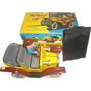 SOLD 1961 Hubley Mr. Magoo Tin Battery-Operated Toy Car - Mint Working with Original Box