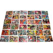 SOLD 144 Vintage 1966 BATMAN Comic Trading Cards by Topps