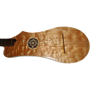 SOLD Beautiful Woodrow Artist Appalachian Stringed Instrument with Case
