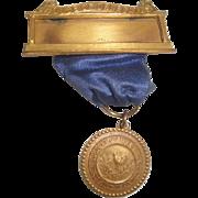 SOLD Vintage Medical Society of NY Medal / Ribbon