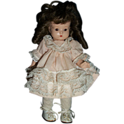 "8"" AM Just Me Bisque Doll Unknown maker Free p&I US BUYER"