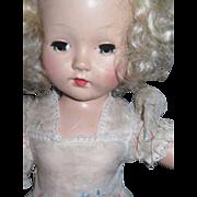 "Beautiful 17"" Effanbee Honey Tintar Doll Free P&I US Buyers!"